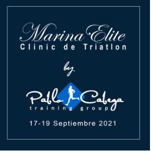 Marina elite Clinic de Triatlon Pablo Cabeza